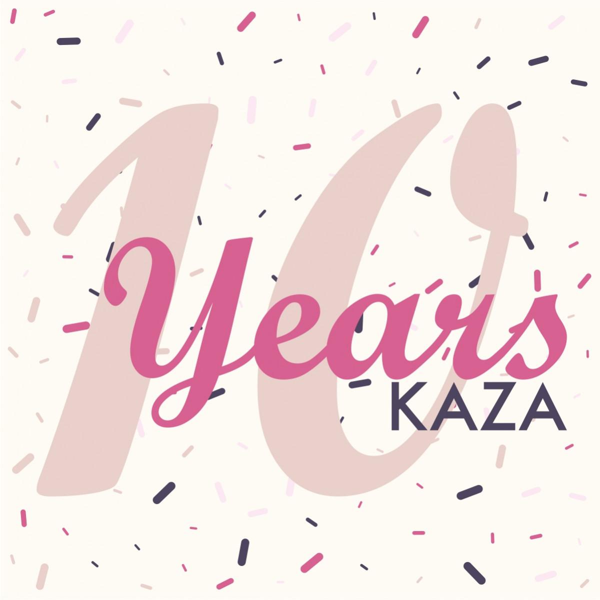 10 лет бренду KAZA