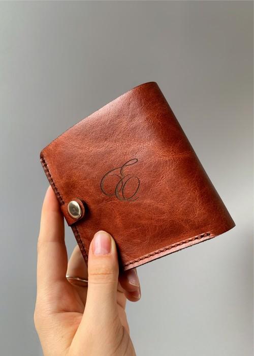 Именной кошелек серии MANcube